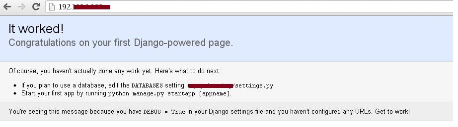 how to set static root django